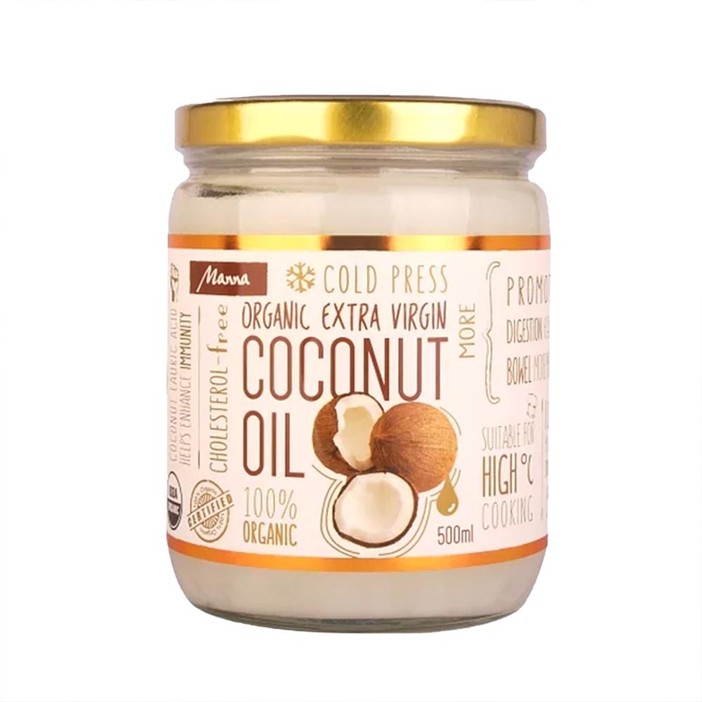 Organic Extra Vargin Cold Pressed Coconut Oil