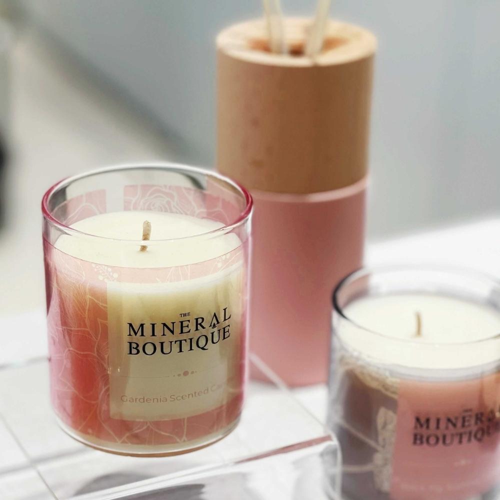天然香熏蠟燭 - 梔子花