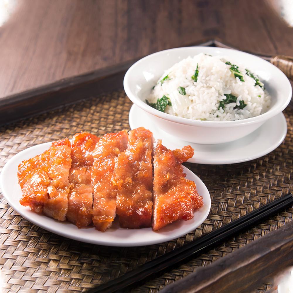 Ribs w/Vegetable Rice