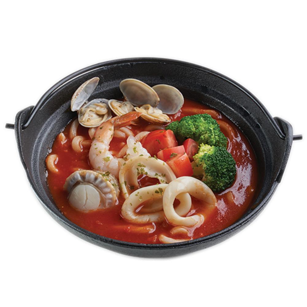 香濃番茄海鮮鍋燒烏冬