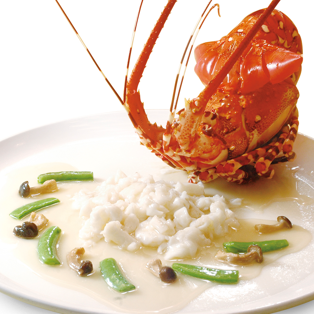 Lobster with Egg White