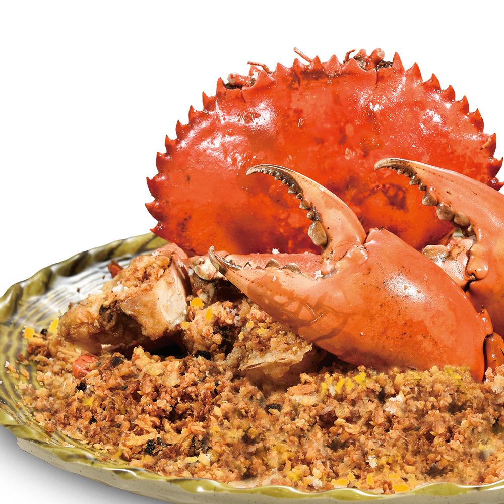 避风塘炒巨型肉蟹