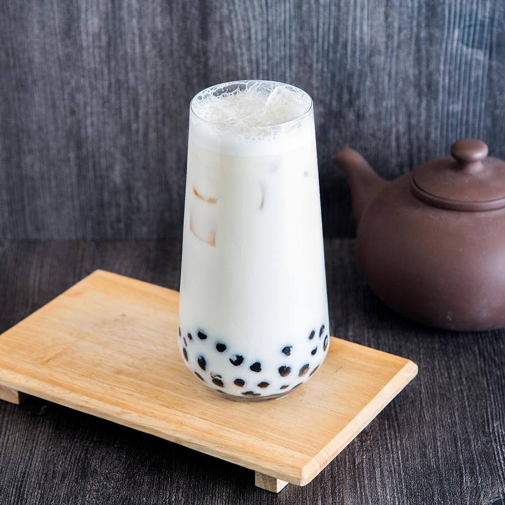Black Milk Tea with Pearls