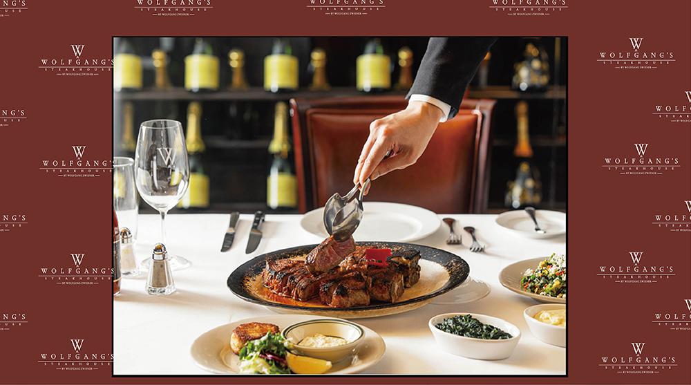 Wolfgang's Steakhouse:每位消费满港币...
