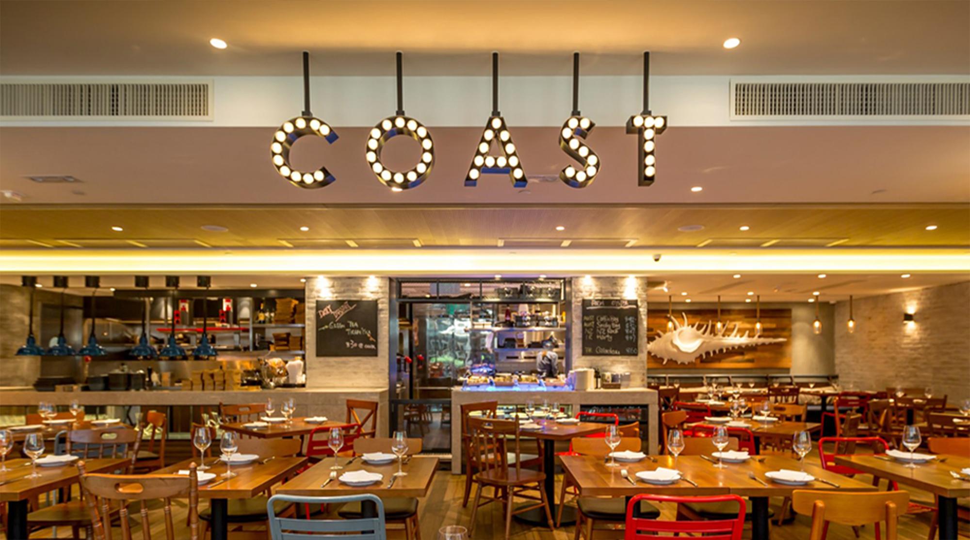 Coast:主菜单(食物及饮品)八五折优惠 @Fashio...