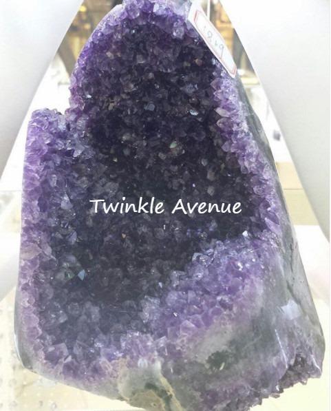 迷你紫晶洞