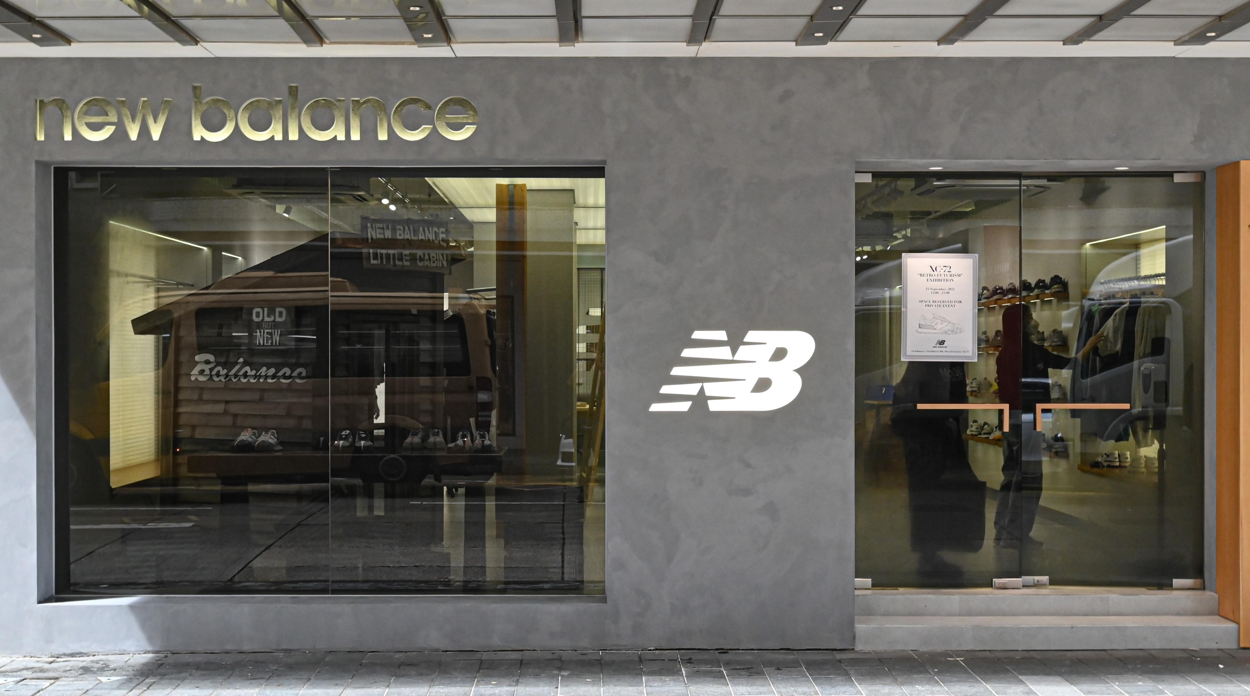 New Balance New Concept Store...
