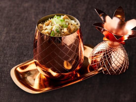 黑松露雞絲炒雞油飯