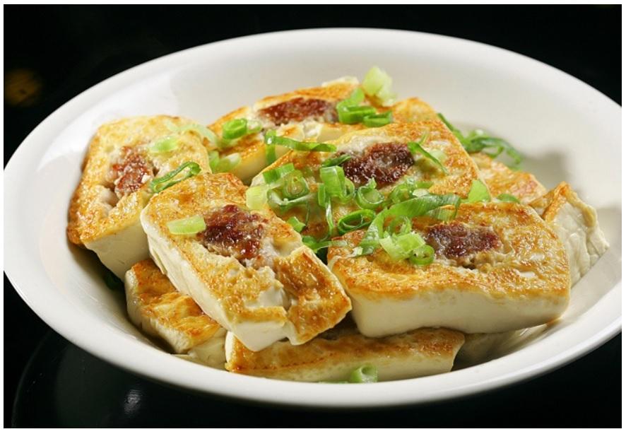 客家煎釀豆腐