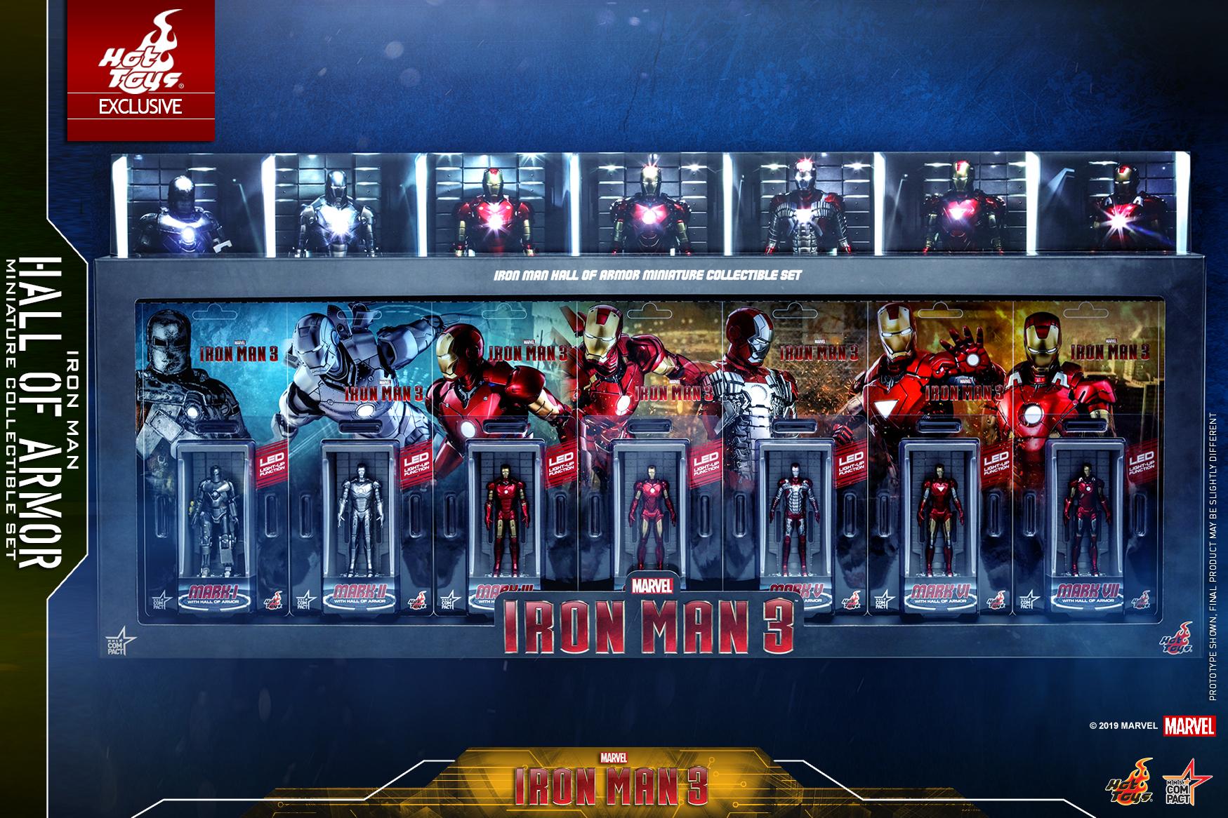 《鐵甲奇俠3》鐵甲奇俠裝甲格納庫迷你珍藏品套裝 @ Fas...