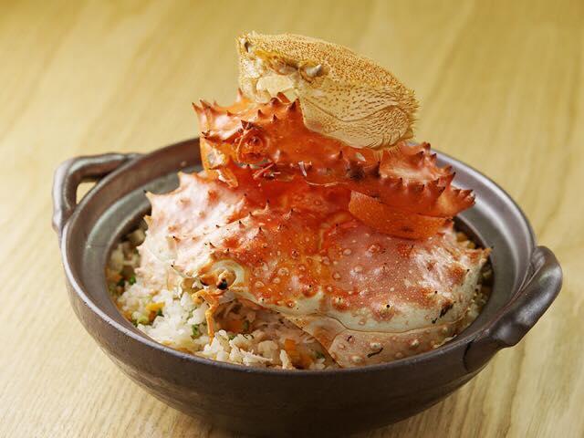 招牌蟹肉飯
