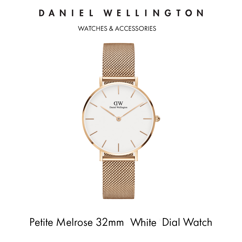 Petite Melrose 32mm 蛋殼白腕錶