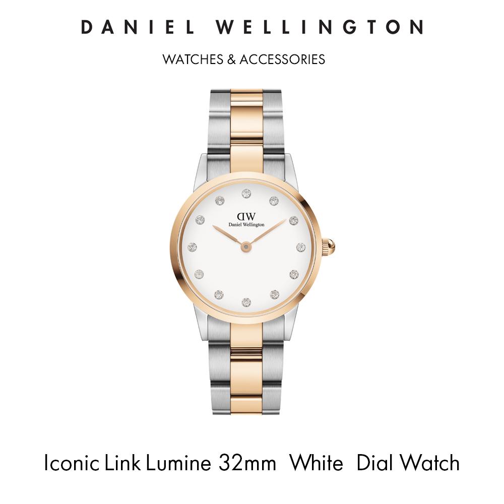 Iconic Link Lumine 32mm 蛋壳白腕錶