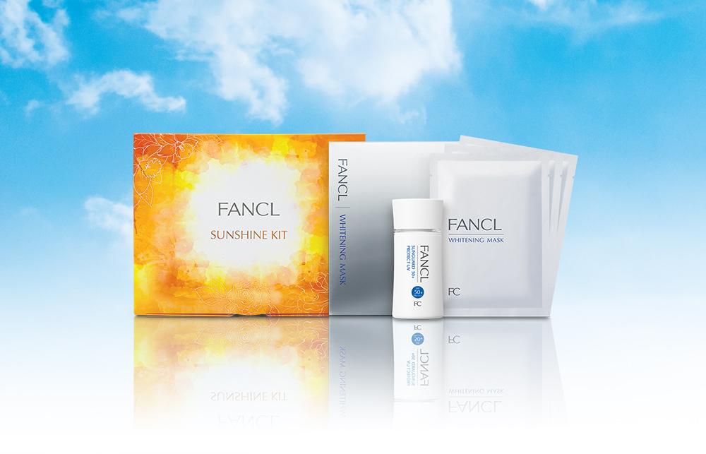 FANCL: 購買防曬亮白套裝,即可獲贈免費禮品 @ Fa...