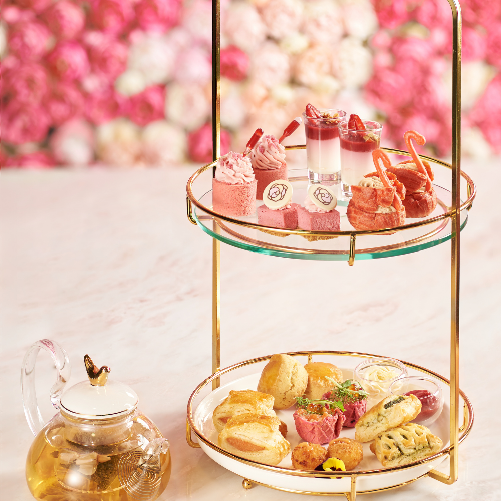 Brand new pink Afternoon Tea ...