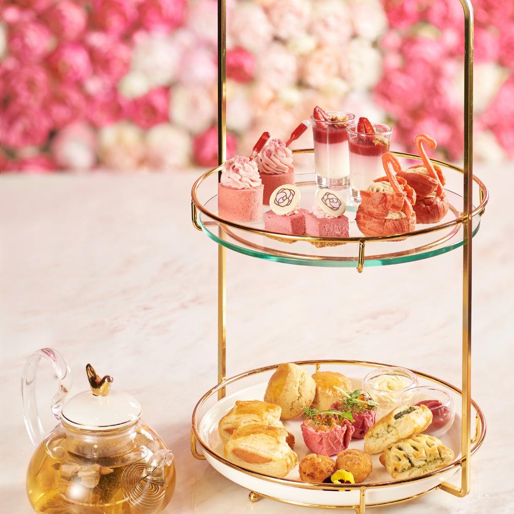Camellia 全新粉紅下午茶登場