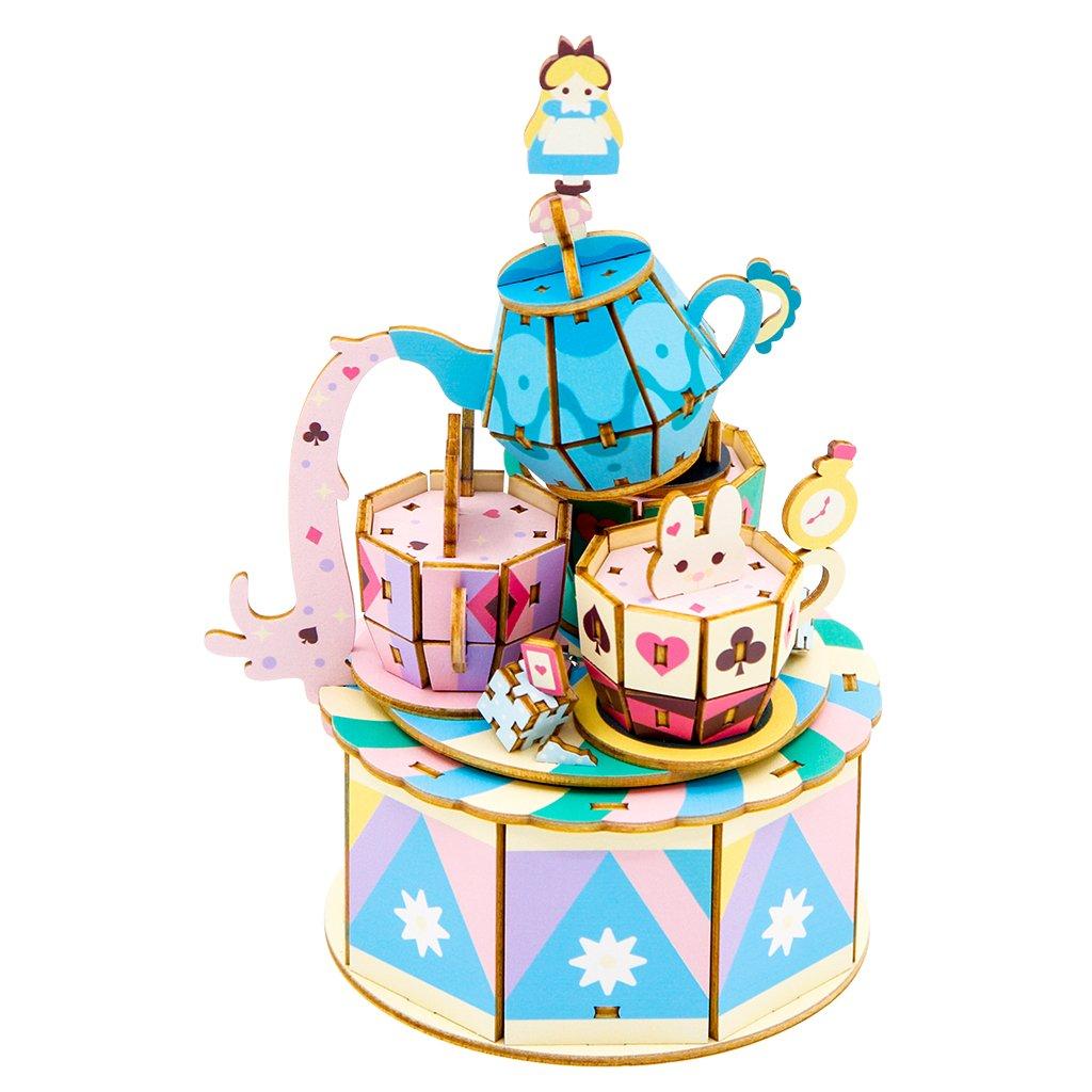 音乐盒: 游乐园系列 - 旋转咖啡杯