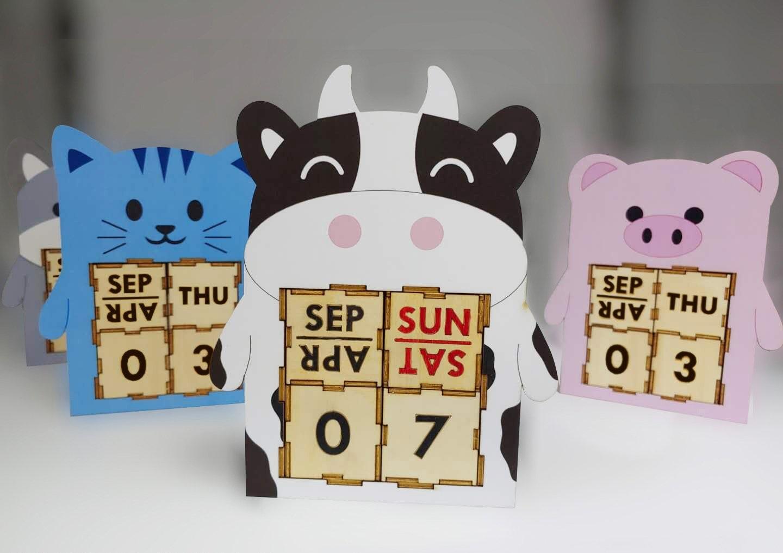 Animal Perpetual Calendar