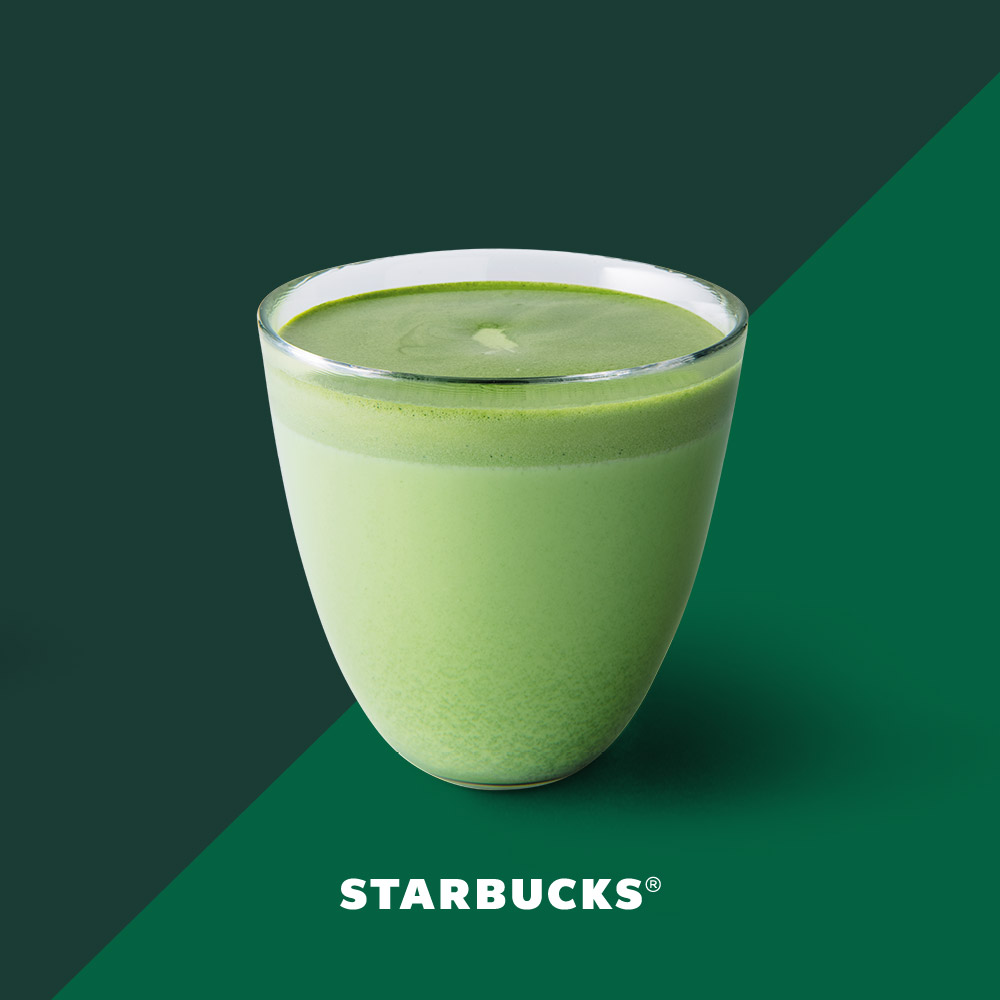 醇香鲜奶抹茶