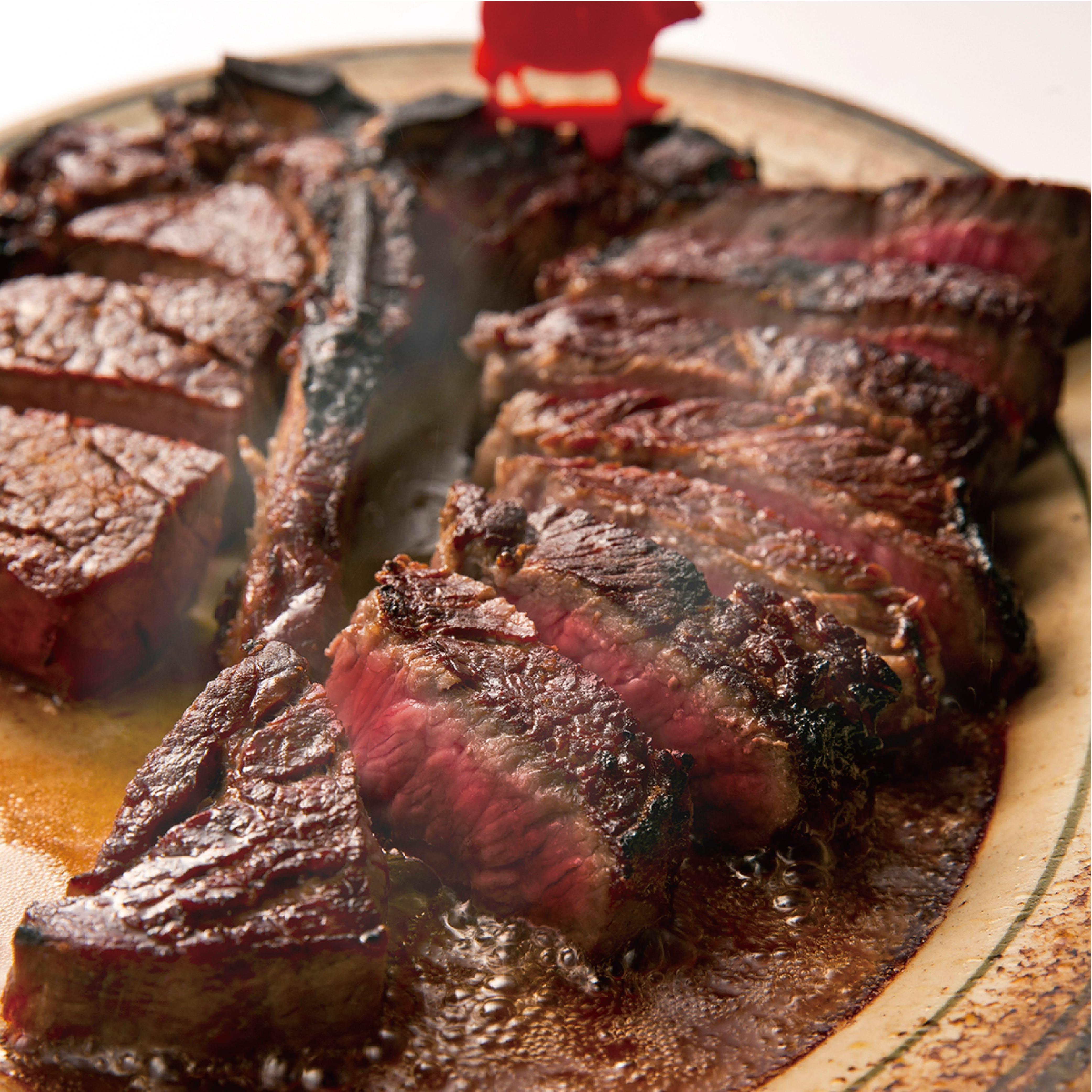 招牌28天熟成美国安格斯上等腰肉牛扒