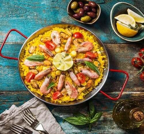 Mariscos Signature Seafood Paella