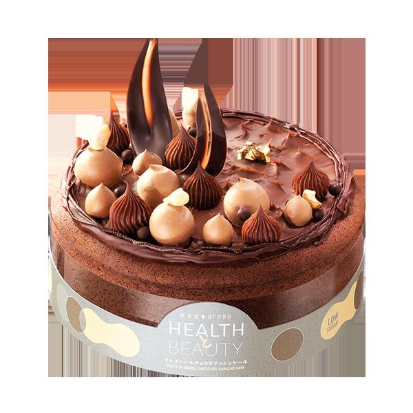 Maltitol Chocolate Ganache Baked Cake