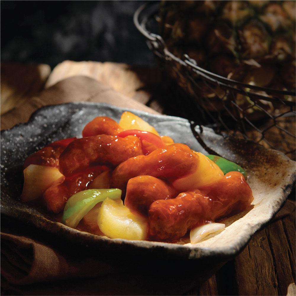 回味菠蘿咕嚕肉