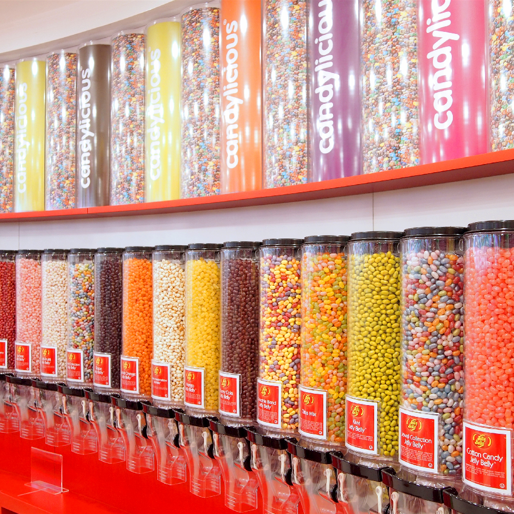 Jelly Belly beans 角