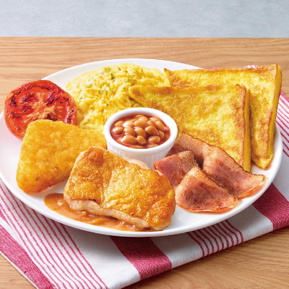 麦卢卡蜜糖鸡扒全日早餐